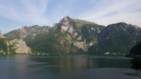 Een Meer in Oostenrijk stock afbeeldingen