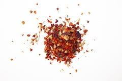 Een mengsel van kruiden paprika Ge?soleerd beeld royalty-vrije stock afbeeldingen