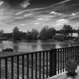Een mening andere de meren Stock Foto