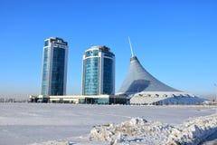 Een mening in Astana Royalty-vrije Stock Afbeeldingen