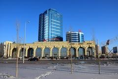 Een mening in Astana Royalty-vrije Stock Afbeelding