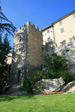 Een mening bij de straat van San-Marino Stock Foto