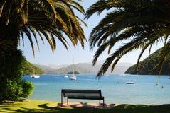 Een mening over Haven Picton Stock Foto