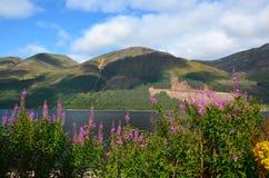 Loch Lochy, Lochaber Royalty-vrije Stock Afbeelding
