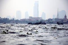 een mening van Bangkok Stock Afbeeldingen