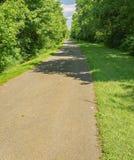 Een Mening van de Blikslager Creek Greenway stock fotografie