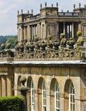 Een mening van de Details van het Huis Chatsworth, Engeland Royalty-vrije Stock Foto