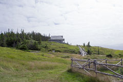 Een mening van de heuvel Royalty-vrije Stock Foto