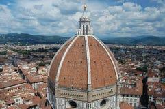 Een mening van de koepel van Duomo, Florence Royalty-vrije Stock Fotografie