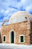 Een mening van de moskee van oude stad Chania Royalty-vrije Stock Afbeelding