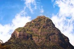 Een mening van de Piek van Adam, Sri Lanka Stock Foto's