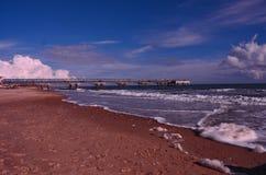 Het strand van Bournemouth Stock Fotografie