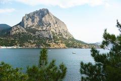 Een mening van de Sokol-berg Royalty-vrije Stock Foto
