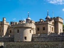 Een mening van de Toren in Londen op 14 Juni, Stock Afbeelding