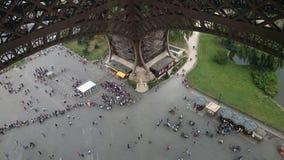 Een Mening van de Toren van Eiffel in Parijs, Frankrijk Stock Fotografie