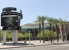 Een mening van het Centrum van de Luchtroutes van de V.S., Phoenix, Arizona Stock Foto