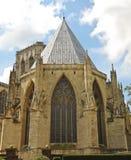 Een mening van het Huis van het Hoofdstuk van de Munster van York royalty-vrije stock fotografie