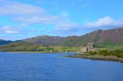 Het Kasteel van Donan van Eilean, Dornie, Schotland Royalty-vrije Stock Foto