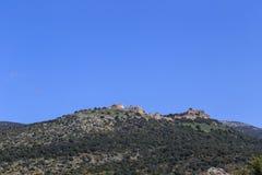 Een mening van het Overzees van Galilee van Onderstel Arbel Royalty-vrije Stock Fotografie