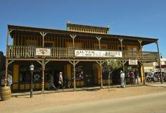 Een mening van het Zilveren Goudklompje, Grafsteen, Arizona Royalty-vrije Stock Foto's