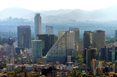 Mexico-City van de binnenstad Royalty-vrije Stock Foto's
