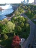 Een mening van Niagara royalty-vrije stock afbeelding