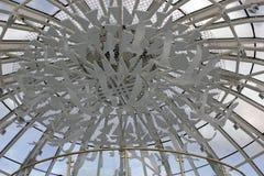 Een mening van ontwerp detailleert Baiterek, Astana Kazachstan royalty-vrije stock afbeeldingen