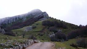 Een mening van platteland in Sicilië Royalty-vrije Stock Fotografie