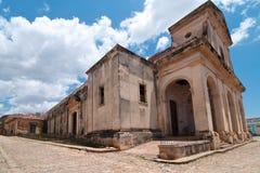 Een mening van pleinburgemeester in Trinidad, Cuba Royalty-vrije Stock Afbeelding