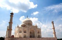 Een mening van Taj Mahal Royalty-vrije Stock Foto's