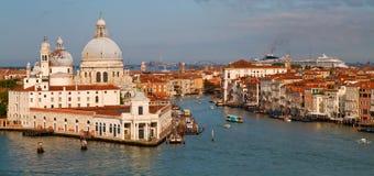 Een mening van Venetië Italië Stock Fotografie