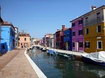 Een mening van Venetië, Italië Stock Afbeeldingen