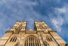 Een mening in Westminster in Londen stock foto's