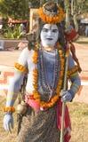 Een mens in Lord Shiva getup Royalty-vrije Stock Afbeelding