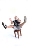 Jonglerende met mens - teveel op mijn plaat royalty-vrije stock foto's