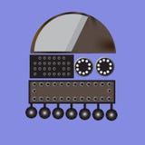 Een metaalrobot Royalty-vrije Stock Afbeelding
