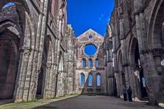Een middeleeuwse kerk Royalty-vrije Stock Fotografie
