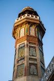 Een minaret van de Moskee Royalty-vrije Stock Foto's