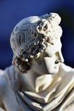 Een miniatuurbeeldhouwwerk van Apollon royalty-vrije stock foto's