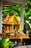 Een miniatuurgeesthuis Stock Foto