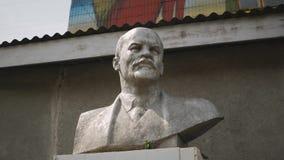 Een mislukking van Lenin stock videobeelden