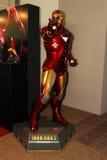 Een model van de Man van het karakterijzer van de films en de strippagina royalty-vrije stock foto's
