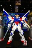 Een model van het karakter Gundam van films en strippagina 16 Stock Afbeelding