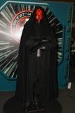 Een model van het karakter Sith Lord van de films en de strippagina royalty-vrije stock foto's