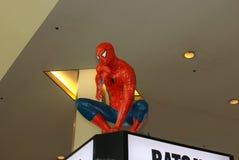 Een model van het karakter Spiderman van films en strippagina 2 royalty-vrije stock foto's