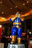 Een model van het karakter Thanos van de films en de strippagina Royalty-vrije Stock Afbeeldingen