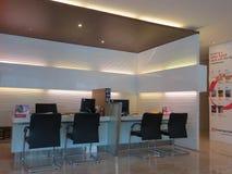 Een modern bureau in Serpong Stock Afbeeldingen