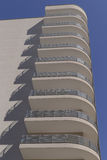 een modern flatgebouw Stock Fotografie