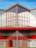 Een modern gebouw. Stock Foto's