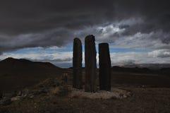 Een modern steengebouw Plaats in Cappadocia royalty-vrije stock fotografie